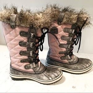 Sorel Boots Faux Fur 6